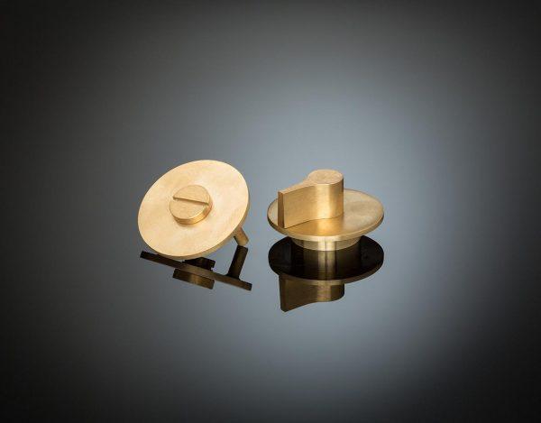 GPT02 in satin brass degined by Gió Ponti supplied from izé