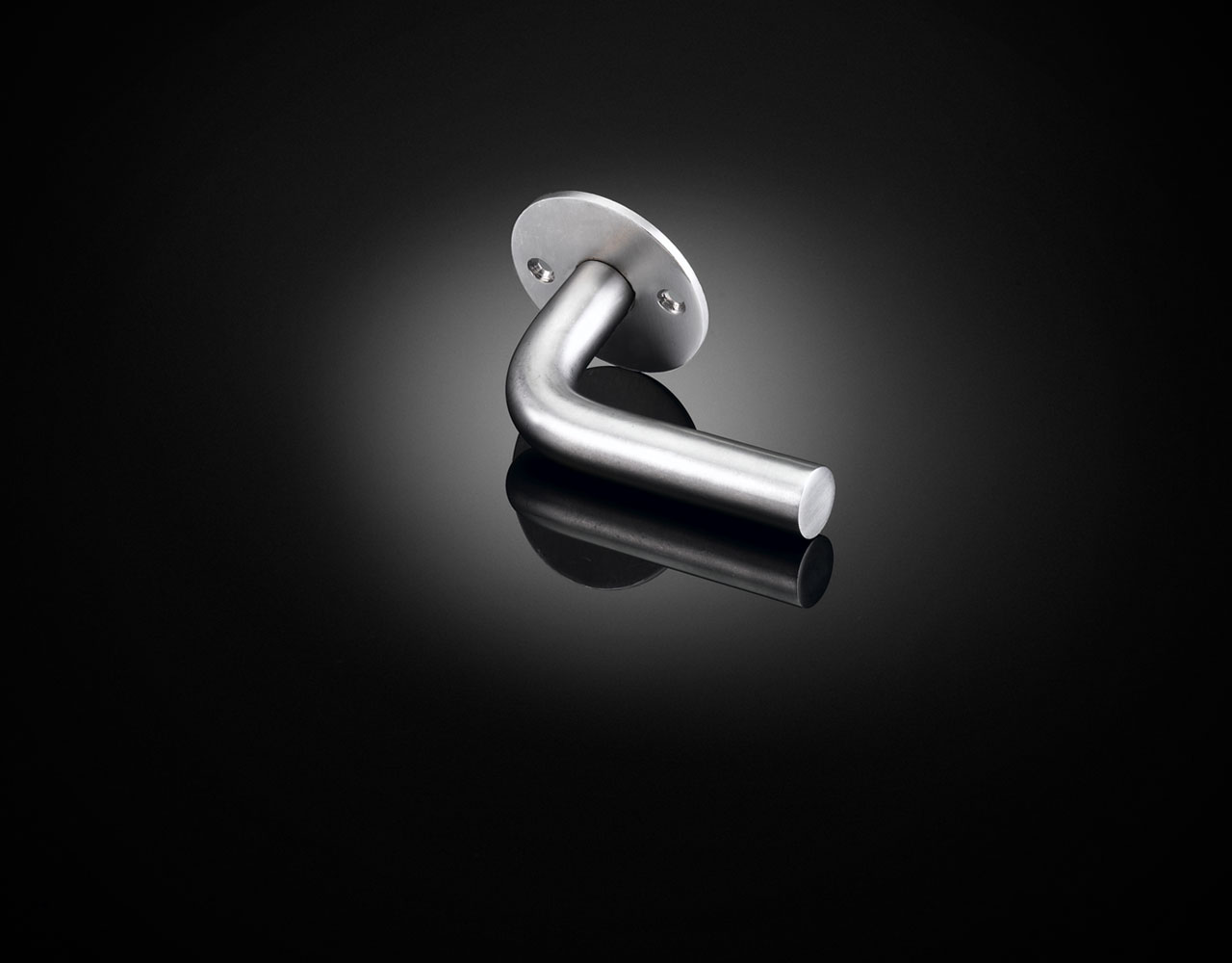 SBW07 basics window handle from Sergison Bates in satin stainless steel from izé