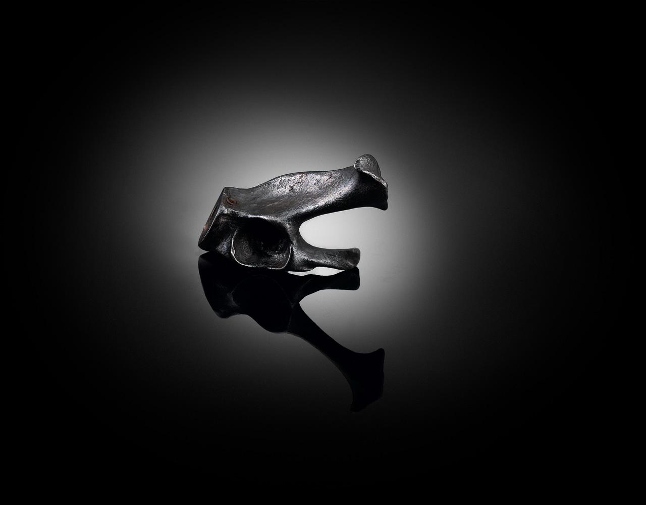 Designer bone coat hook by Faye Toogood
