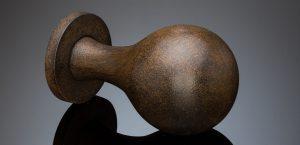 oxidized distressed iron