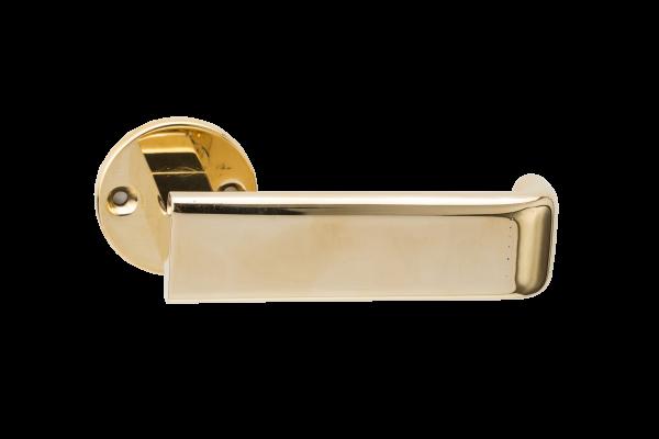 Luxury bronze lever handle designed by Juhani Pallasmaa, Venice Biennale, Finnish architect
