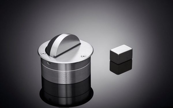 Concealed magnetic door stop by ize